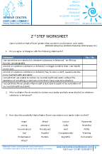 2nd Step Worksheet