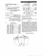 Patent 5758852 Modular Loudspeaker Enclosure Suspension Rigging System