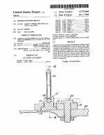 Patent 5775664 Anchor Fastening Device